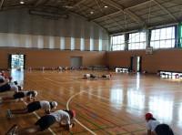 ミニバスケットボールコーチング!